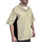 Orlimar Men's Golf Cyclone 1/4 Zip Short Sleeve Wind Shirt