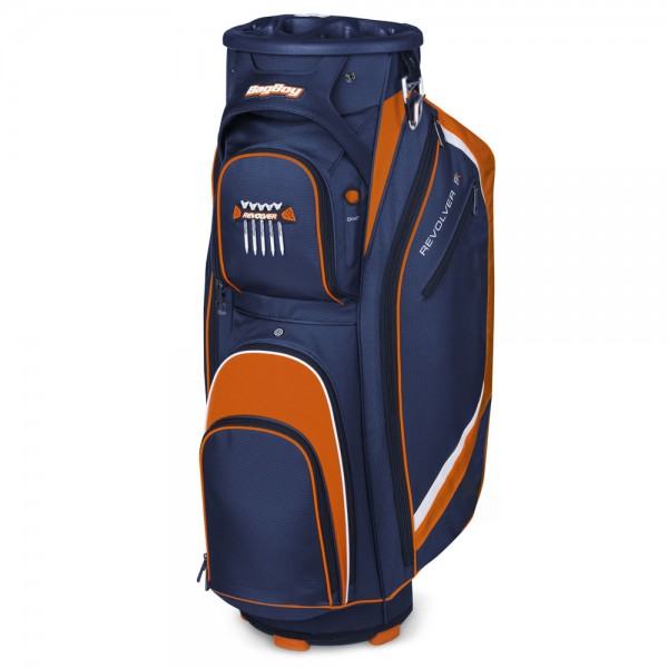 Bag Boy Revolver FX Cart Bag Blue/Orange