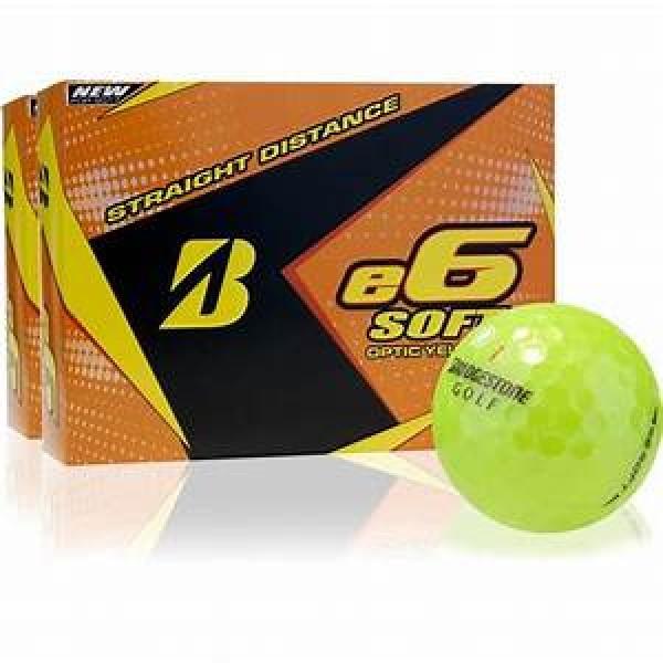 Bridgestone E6 Soft Yellow Dozen