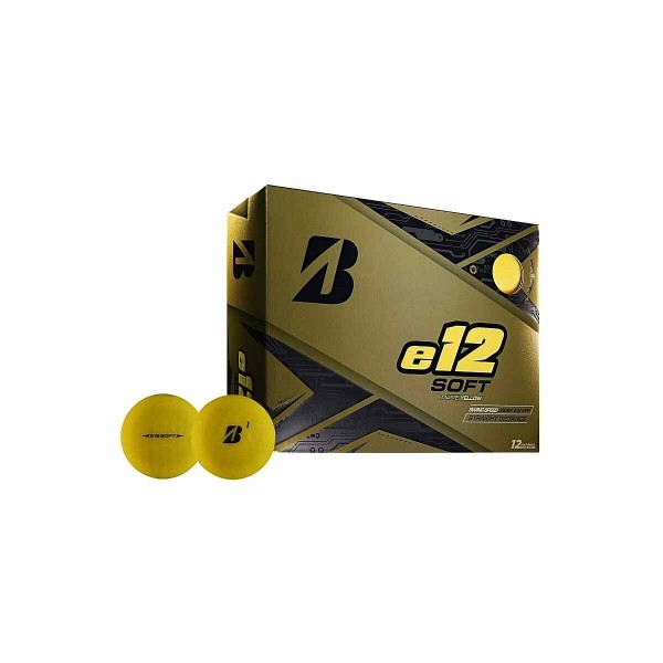 Bridgestone E12 Soft Matte Yellow Dozen