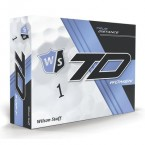 Wilson Staff True Distance Women White Dozen