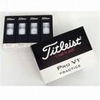 Titleist PRO V1 Practice Dozen White